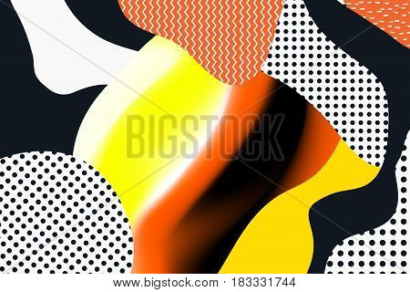 Geometric vector backgrounds. Materia Modernl Design. Use for posters, covers, flyers, postcards, banner designs. Retro Style  90s 80s poster