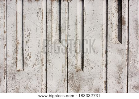 Concrete Texture Painted With White Paint