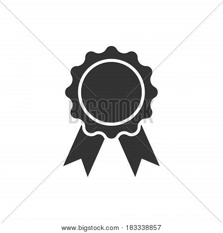 award icon isolated on white background. Vector illustration. Eps 10.
