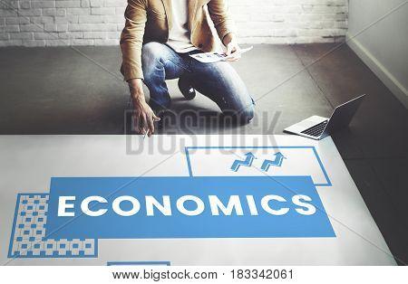 Businessman planning investment startup plan marketing strategy