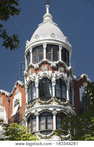 Valladolid (Castilla y Leon Spain): historic buildings