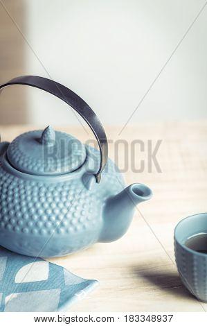 Tea Time Zen Way, Asian Aesthetics.