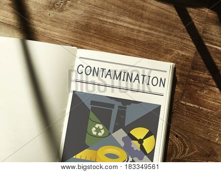 Chemical Contamination Infection Pollution Concept