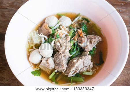 Braised Pork Clear Soup