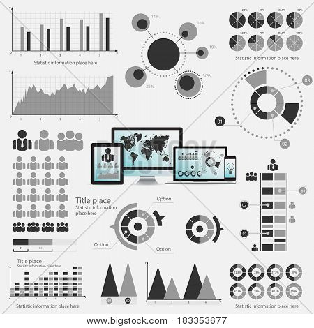 Business Infographic Concept - Vector Set Of Infographic Element