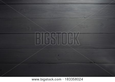 black wooden board as background texture