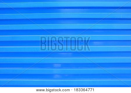 Blue Zinc Wall Background. Suitable for Presentation and Web Templates.