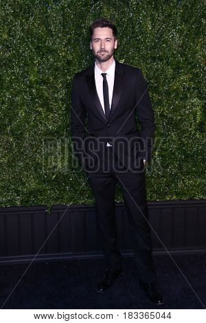 NEW YORK-APR 24: Actor Ryan Eggold attends the 12th Annual Tribeca Film Festival Artists Dinner hosted by Chanel at Balthazar Restaurant on April 24, 2017 in New York City.