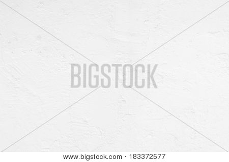 White Grunge Concrete Wall Texture Background. Suitable for Presentation and Web Templates with Space for Text.