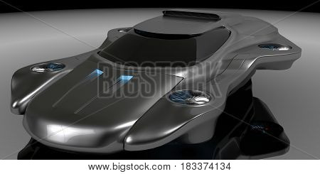 Concept air machines Car Technology high quality 3d redered image