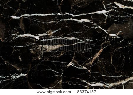 Black and Gold Marble patterned texture background, Detailed genuine grunge marble from nature, Can be used for creating abstract marble surface effect to your designs or images.