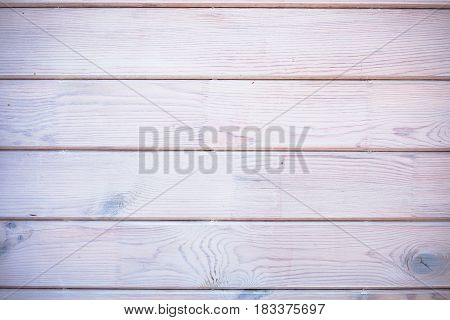 Wood horizontal planks background deck, texture vignetting