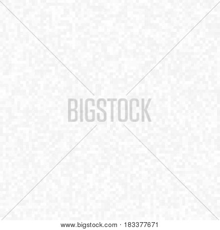Abstract background of small pixels. Pixel light texture for your projects. White color of clouds. Vector illustration. EPS 10