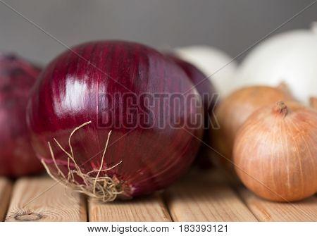Vitamin And Fresh Onions