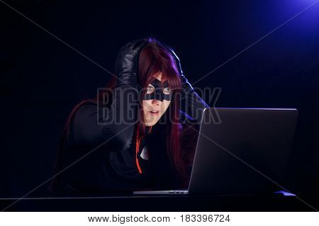 Photo of thief in mask