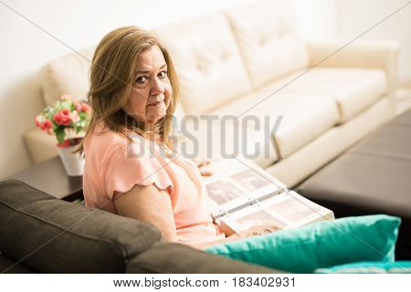 Elder Granny Reliving Some Memories