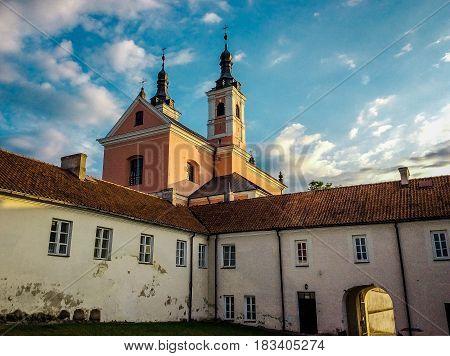 Camaldolese monastery in Wigry Suwalki Podlasie Poland