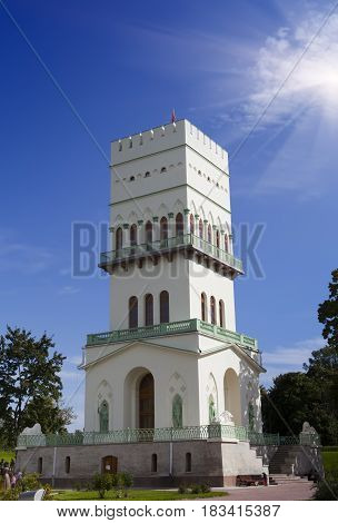 The White Tower in a sunny day