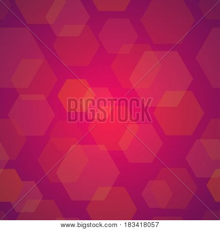 Abstract Background in Cold Red Elite Style Vector Illustration for Premium Design.