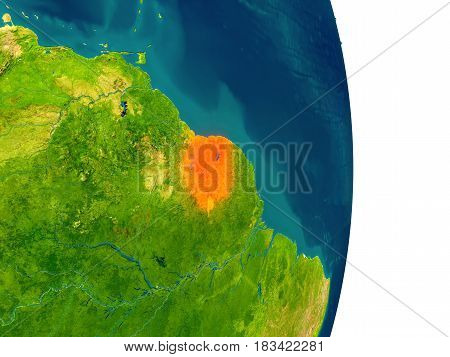 Suriname On Planet