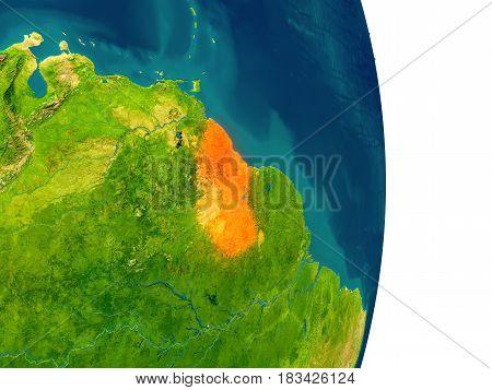 Guyana On Planet