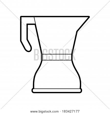 stove top kettle coffee related icon image vector illustration design