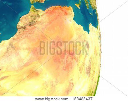 Algeria On Planet