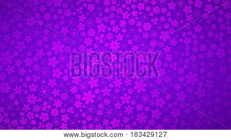 Background Of Small Flowers