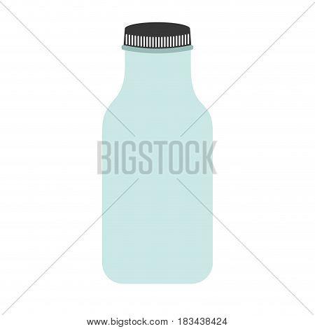 cristal bottle isolated icon vector illustration design
