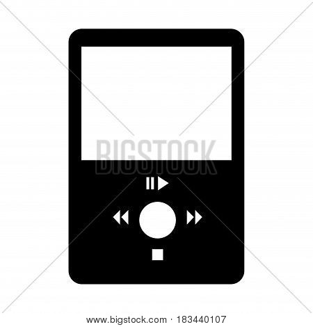 mp3 music player icon vector illustration design