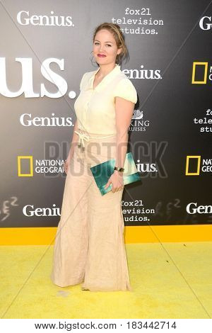 LOS ANGELES - APR 24:  Erika Christensen at the National Geographic's