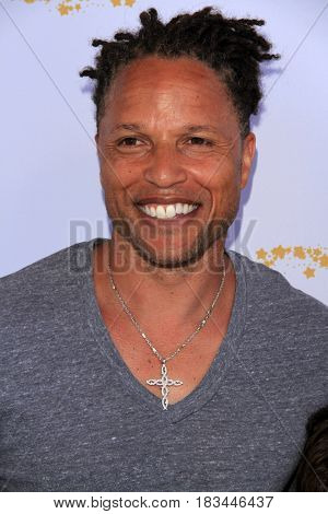 LOS ANGELES - APR 23:  Cobi Jones at the Safe Kids Day at the Smashbox Studios on April 23, 2017 in Culver City, CA