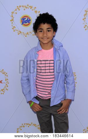 LOS ANGELES - APR 23:  Anderson Slayton at the Safe Kids Day at the Smashbox Studios on April 23, 2017 in Culver City, CA