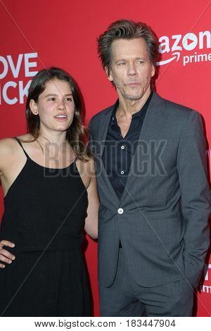 LOS ANGELES - APR 20:  Sosie Bacon, Kevin Bacon at the