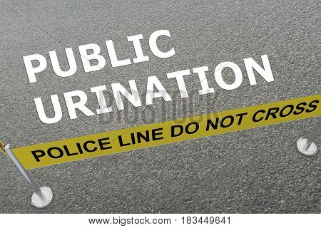 Public Urination Concept