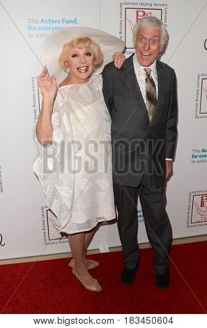 LOS ANGELES - APR 23:  Ruta Lee, Dick Van Dyke at the Professional Dancers Society's 30th Gypsy Awards at the Beverly Hilton Hotel on April 23, 2017 in Beverly Hills, CA