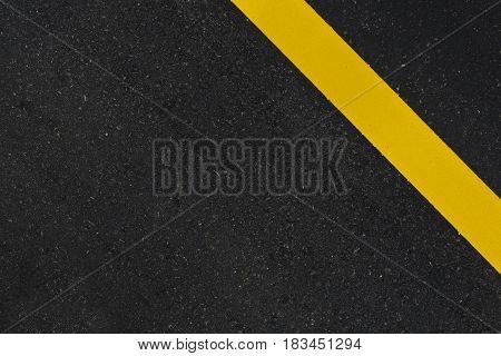 Close up top view asphalt texture background