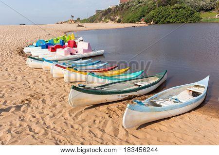 Beach Lagoon Paddle Boats Ramsgate
