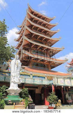 Viet Nam Quac Tu Pagoda temple Ho Chi Minh City Saigon Vietnam
