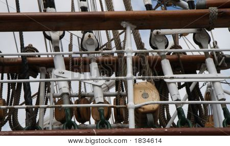 Part Of Sailing Ship