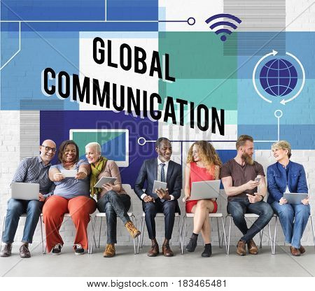 Global connection internet network wifi