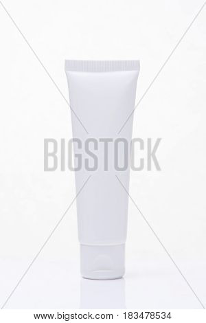 Cosmetics Moisturizer Bottle isolated on white background