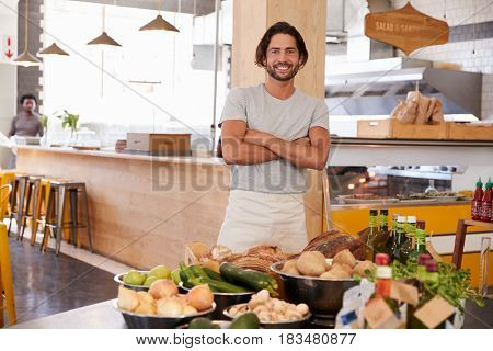 Portrait Of Male Owner Of Organic Food Store