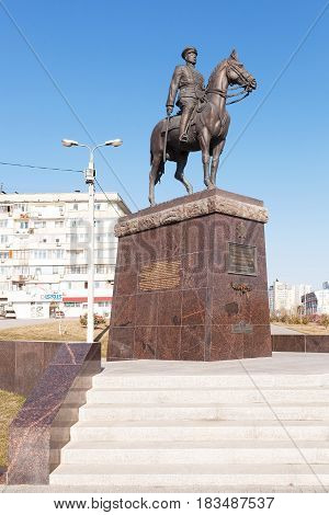Monument To Rokossovsky K. K.