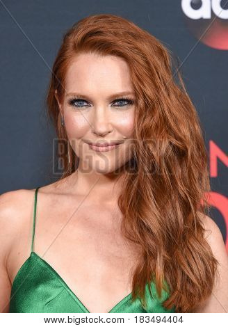LOS ANGELES - APR 08:  Darby Stanchfield arrives to the