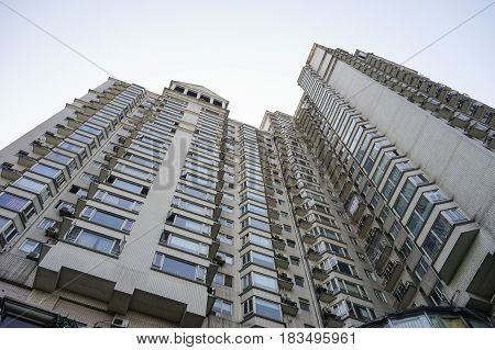Modern Buildings In Chengdu, China
