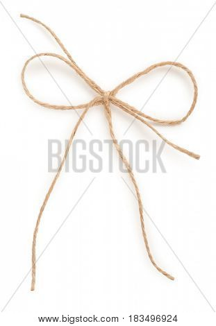 Rope with bow knot