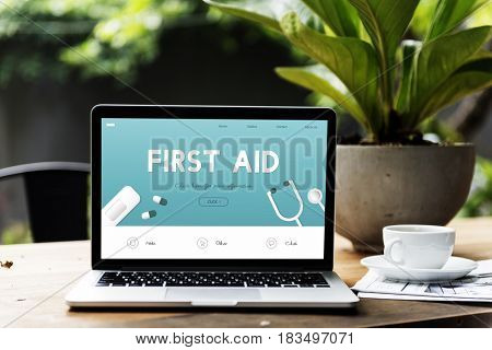 First Aid Emergency Help Urgency Accident Rescue