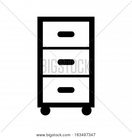 Laundry drawer isolated icon vector illustration design