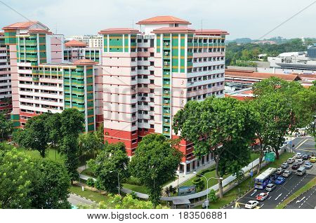 Singapore Residential Housing Estate
